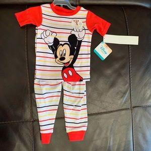 Mickey Mouse 12 Months Disney Baby Pajama Set
